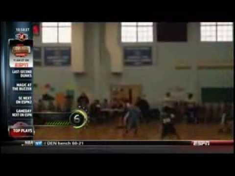 02-07-14 Ardena School 5th grade basketball team on ESPN SportsCenter Top Plays
