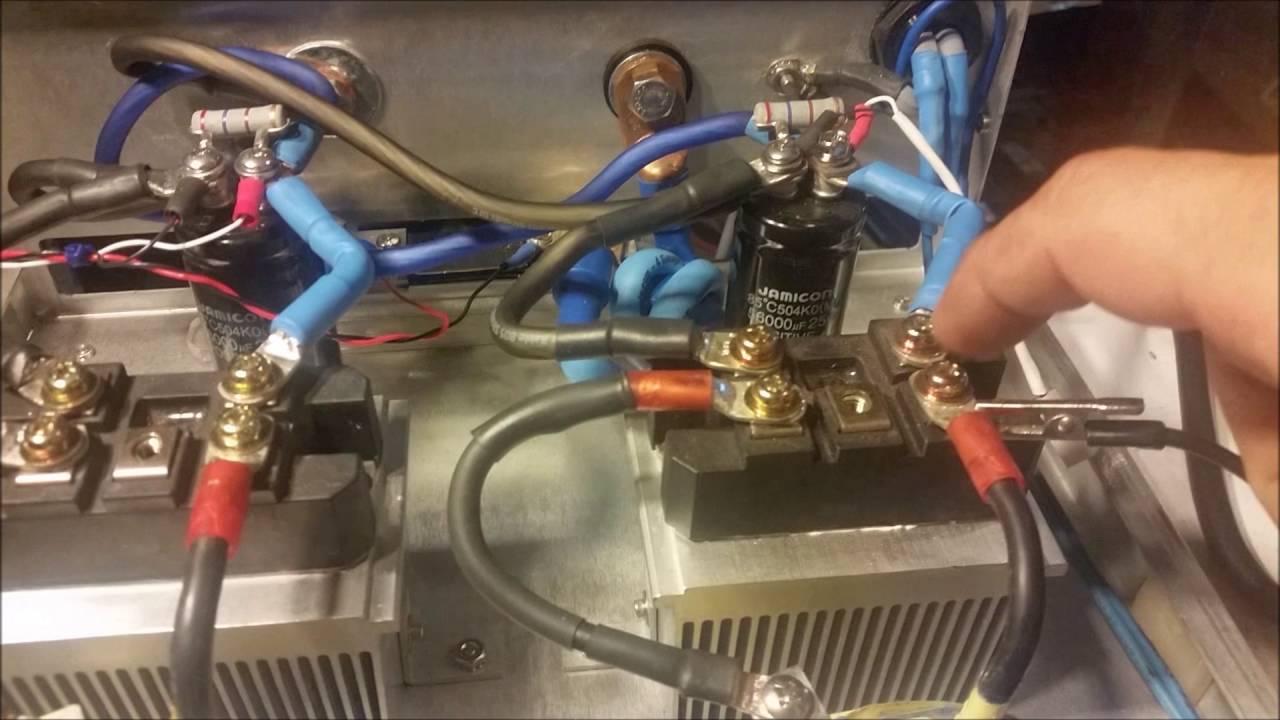 Custom Gatekeeper Built 200A Power Supply With 4 Amperage Settings