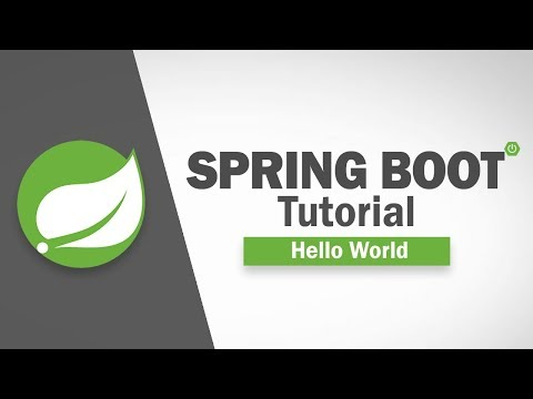Spring Boot Tutorial - Hello World