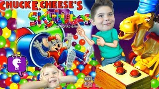 Spitting Camel + Chuck E Cheese SkyTubes Games! HobbyFamily Fun Game Time with HobbyKidsTV