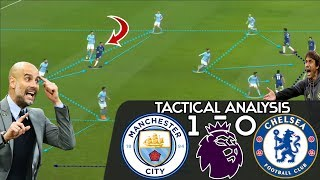 Why Pep Guardiola's Manchester City Were Tactically Superior to Conte's Chelsea: Tactical Analysis