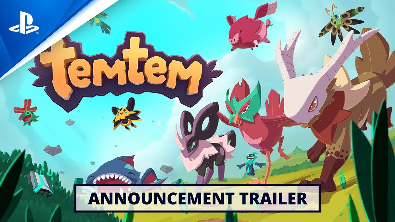 Temtem - Announce Trailer | PS5