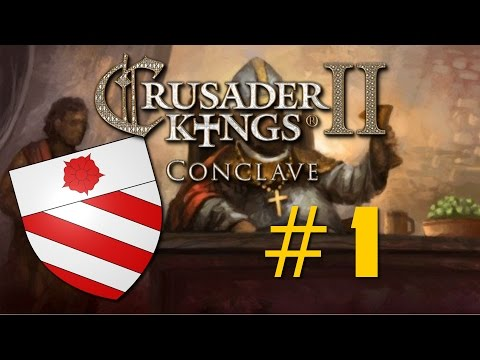 Crusader Kings II: Conclave - Orsini Papacy - Ep 1