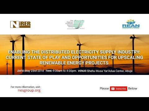 NIGERIAN RENEWABLE ENERGY ROUNDTABLE