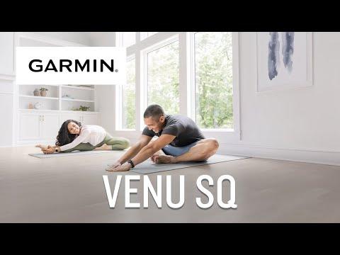 Garmin présente Venu® Sq - Montre connectée santé bien-être