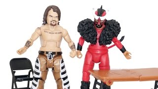 Hornswoggle & El Torito WWE Mattel Battle Pack 34 Figure Unboxing & Review!!