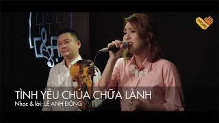VHOPE | Tình Yêu Chúa Chữa Lành - Kim Nguyên | CHẠM - Live Acoustic