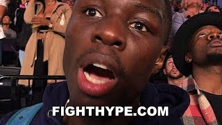RICHARDSON HITCHINS REACTS TO WILDER KNOCKING OUT BREAZEALE; WARNS WHOEVER HE FIGHTS NEXT
