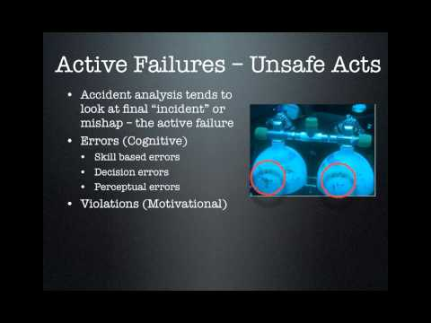 Just and Safety Culture in Sport Diving