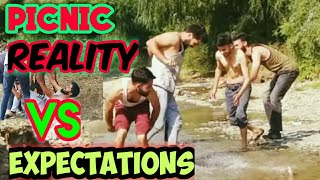Picnic In Kashmir||Expectations Vs Reality || Funny Kashmir