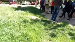 17.05.2017  Пожар на улице А.Невского Одесса