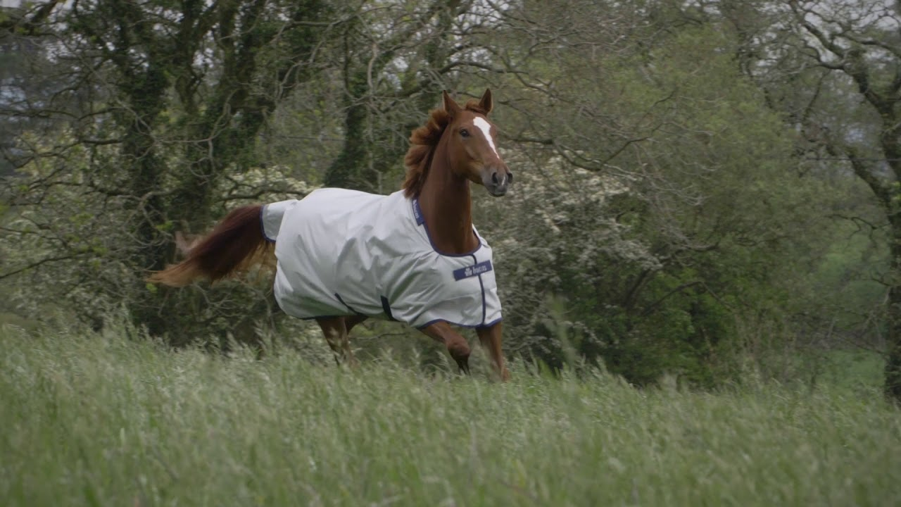 Bucas Smartex Turnout Rugs - YouTube