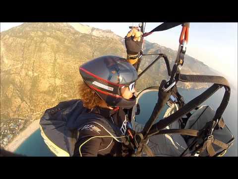Gorkem Kuscu & Arif Kemal Buhara  Tandem Paragliding And Base Jump