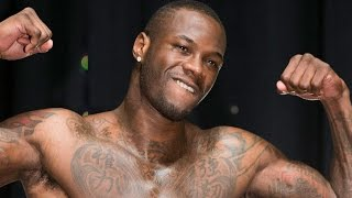 DEONTAY WILDER TALKS MAYWEATHER VS. MCGREGOR