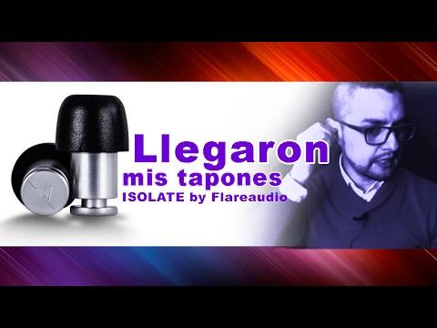 ¡MIS TAPONES NUEVOS DE OIDOS ISOLATE LLEGARON!