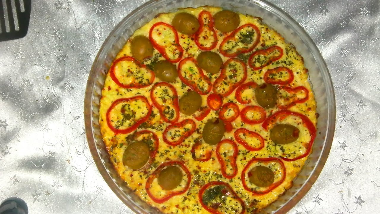 Hamursuz Pizza