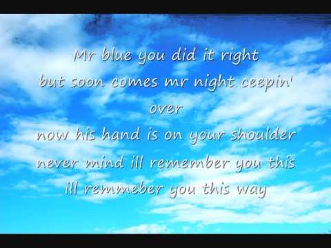 Mr. Blue Sky - Electric Light Orchestra (Lyrics) - YouTube