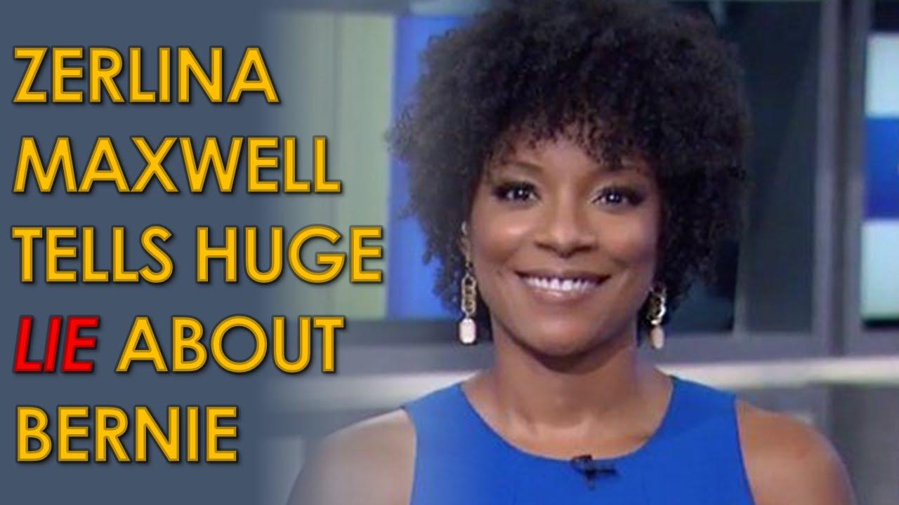 Download MSNBC host Zerlina Maxwell Tells MASSIVE lie about Bernie Sanders having fake Black supporters