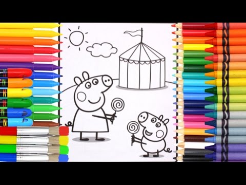 Coloring Book Pages Kids Fun Art Activities Videos For Children Learning Colors