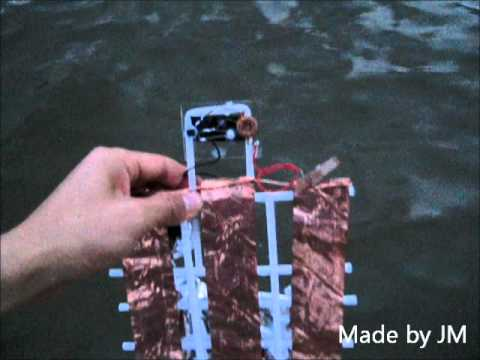 Sea water Battery(Voltaic battery cell)