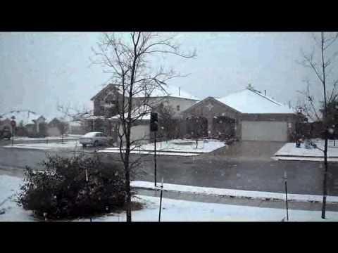 Snow in Round Rock, TX