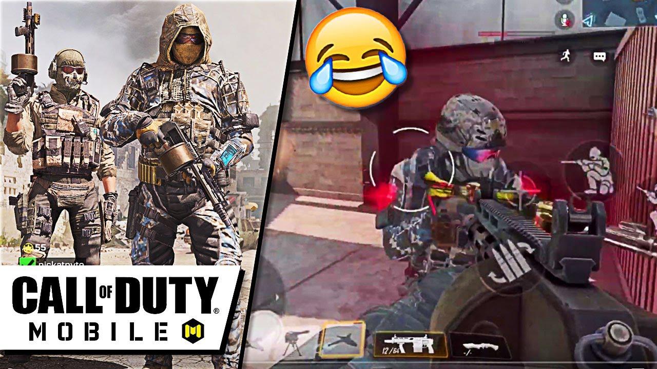 EPIC SHOTGUN TROLLING in Call Of Duty Mobile (Cod Mobile) thumbnail