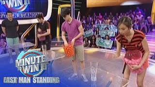 Pong To The Third Power | Minute To Win It - Last Teen Standing