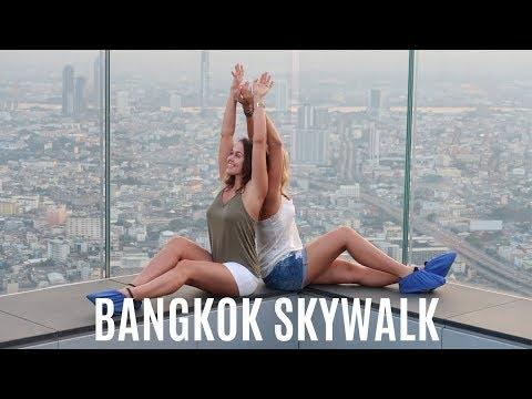 BEST VIEW in Bangkok - King Power Mahanakhon Skywalk