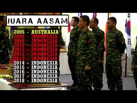 SEMANGAT ASIAN GAMES 2018 MENJADIKAN TNI AD  JUARA AASAM 2018 DI AUSTRALIA