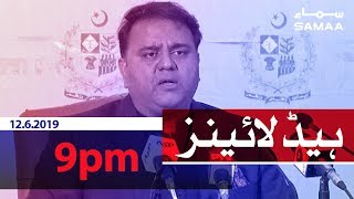 Download Samaa Headlines - 9PM -12 June 2019 Mp3 and Videos