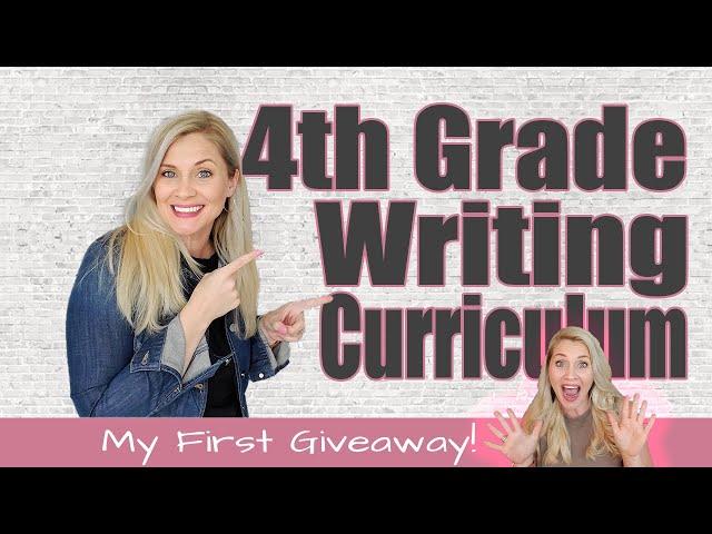 4TH GRADE WRITING CURRICULUM | Homeschool Writing 2021-2022 School Year | Giveaway | Secular