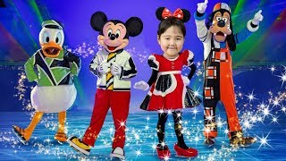 Semra goes to Disney On Ice Show