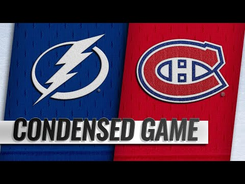 11/03/18 Condensed Game: Lightning @ Canadiens