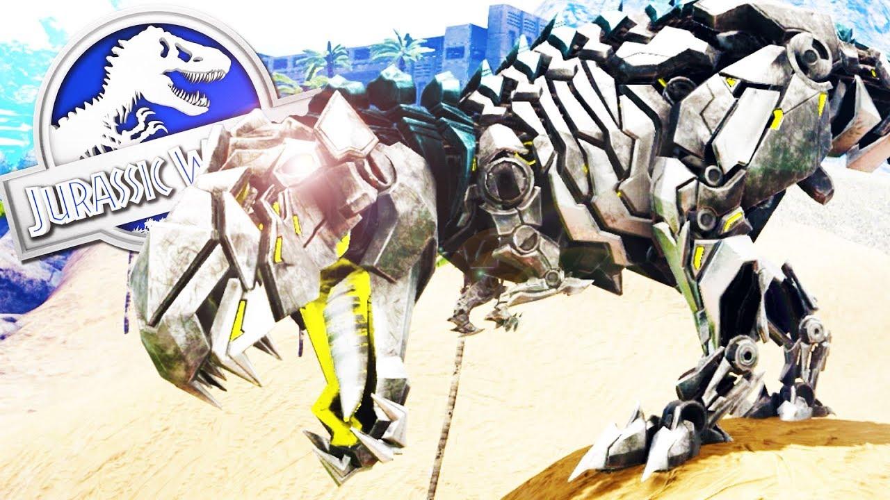 Dinosaurios Robots Guardianes Del Parque Nuevos Dinosaurios Jurassic World 2 Ark Youtube Escoge cuándo soltar tu carrera o ataques. dinosaurios robots guardianes del parque nuevos dinosaurios jurassic world 2 ark
