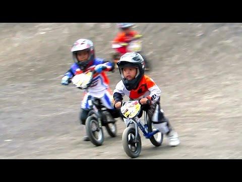 ANAK KECIL BALAP SEPEDA BMX LUCU - Jogjakarta Bike Racing, Youth Center Circuit  (BMX INDONESIA)