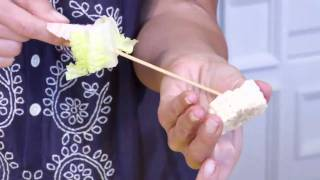 Texas Style Salad Skewers: Raw Food Recipe