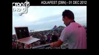 Ryan the dj at aquafest in durban (South Africa)