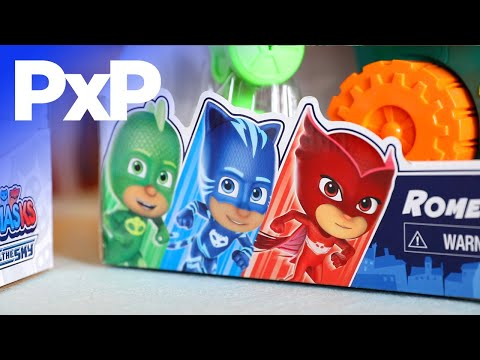Save the day with new PJ Masks toys, books, and more! | A Toy Insider Play by Play