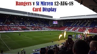 Rangers v St Mirren (2-0) 2018/2019 First Home Game