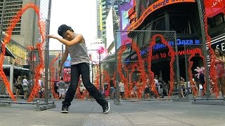 MAKE IT BUN DEM | DUBSTEP | KJ @ Times Square New York NYC (Inspired by WHZGUD2 Marquese Scott)