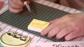 【Guru Helen Fung】Rubber Stamp Carving