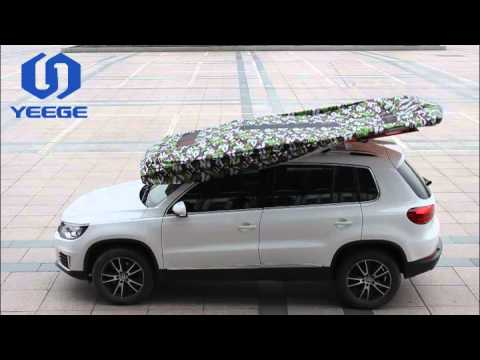 Hail Protection Car Cover >> SUNCLOSE Factory Automatic Car Umbrella - YouTube