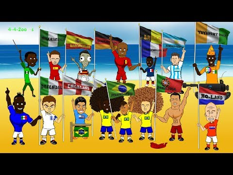 Brazil world cup 2014 highlights - the group stage by 442oons (funny football cartoon)