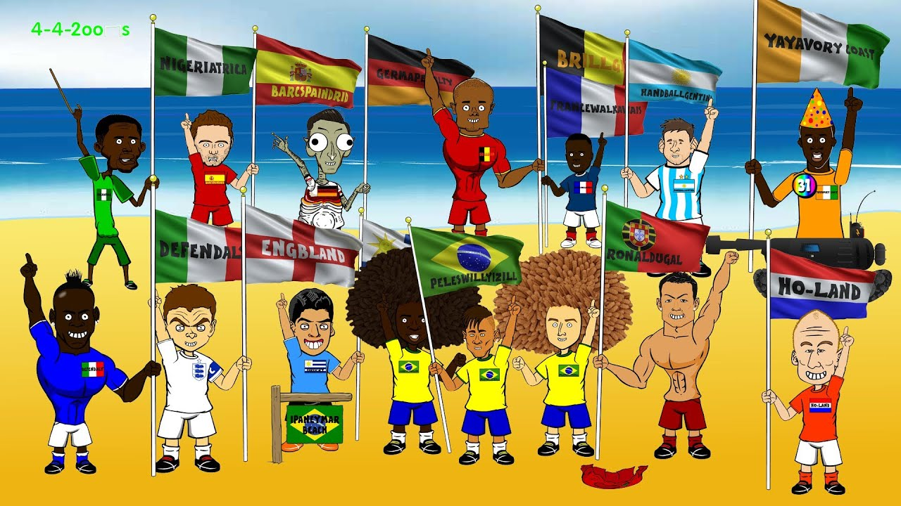 BRAZIL WORLD CUP HIGHLIGHTS The Group Stage By Oons - 11 hilarious world cup look likes