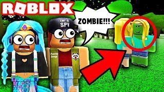 A ZOMBIE BROKE INTO THE SCHOOL!! 🧟♀️ | Roblox Roleplay | Little Angels Daycare