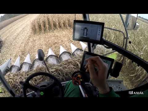 CLAAS LEXION 6600 Kukorica Aratás VLOG