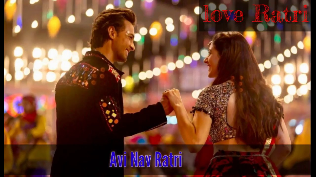 Loveratri picture ke song video