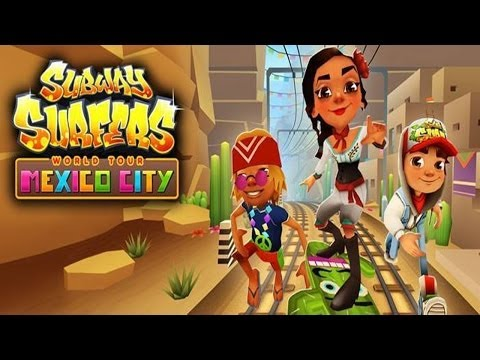Subway Surfers: Mexico City - Samsung Galaxy S3 Gameplay