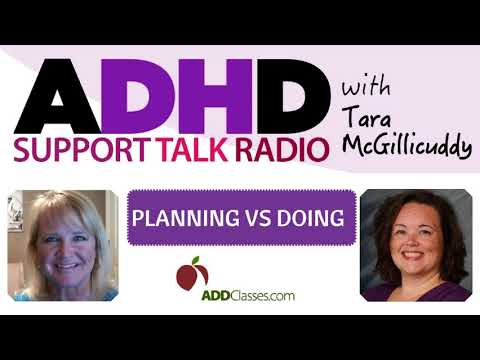 ADHD Productivity Tips: Planning vs Doing with Adult ADD / ADHD