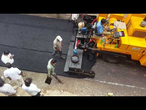 How Indian roads are built in 2016